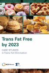 NCD Trailblazers: Trans fat free by 2030 - Advocacy for trans fat elimination