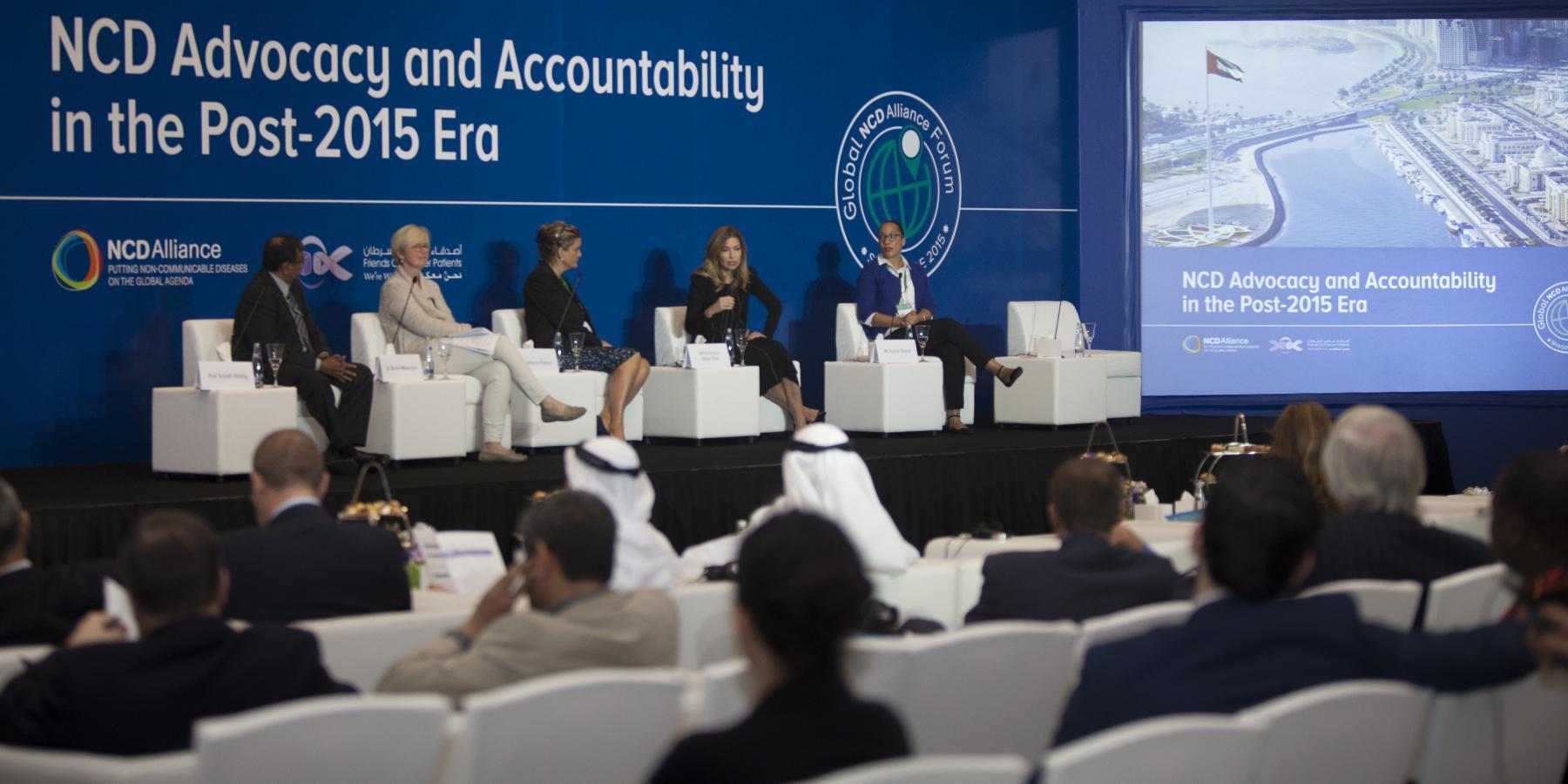 Global NCD Alliance Forum 2015