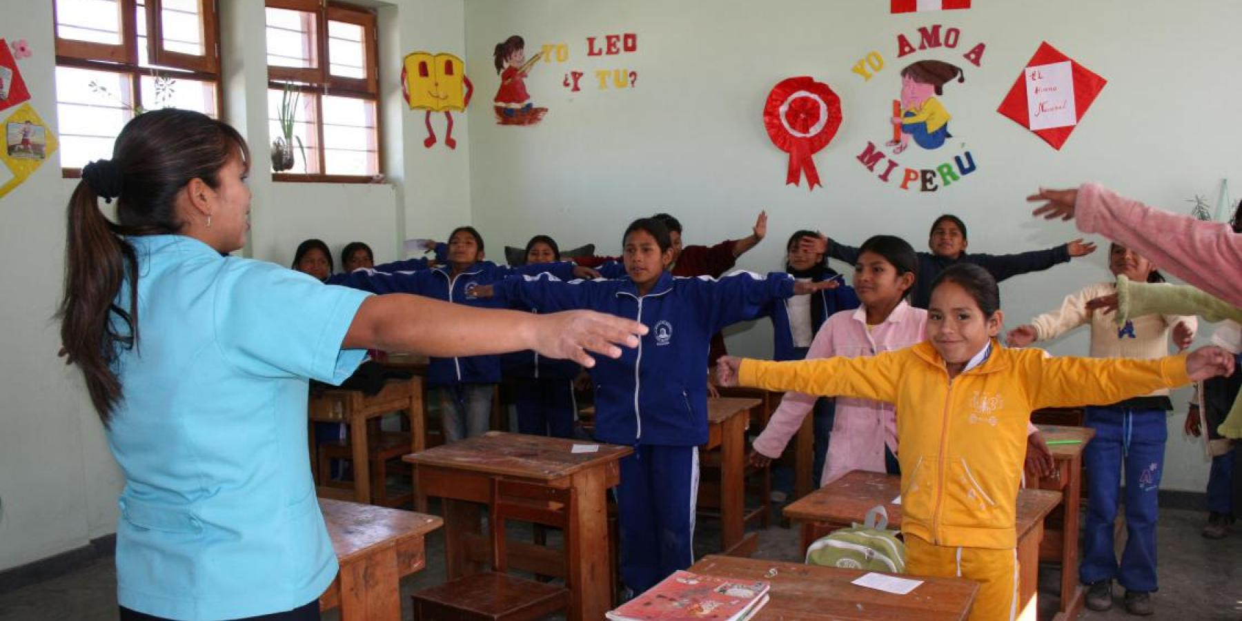 Peru : Physical activity at primary school