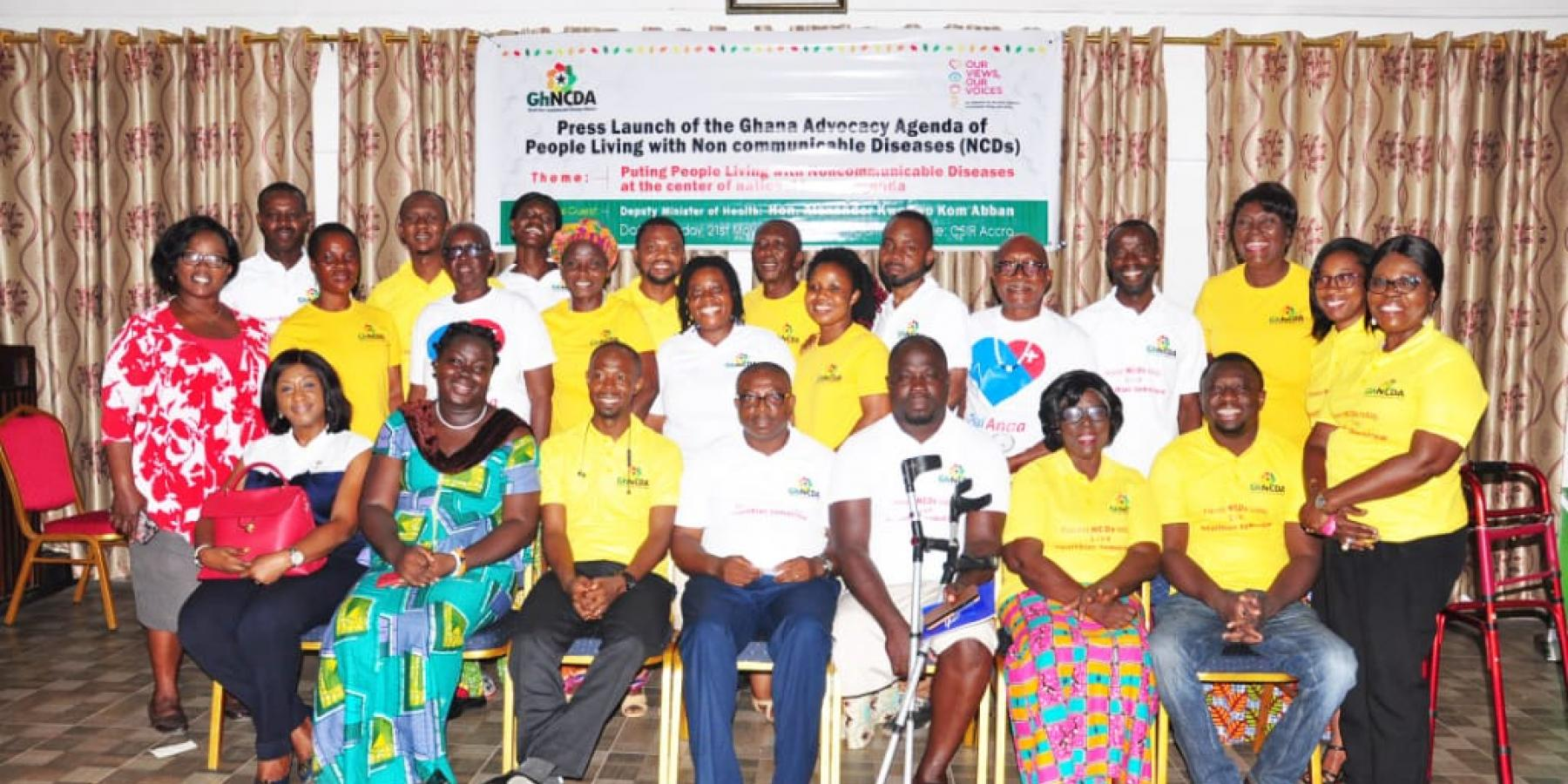 Launch of Ghana Advocacy Agenda of People Living with NCDs