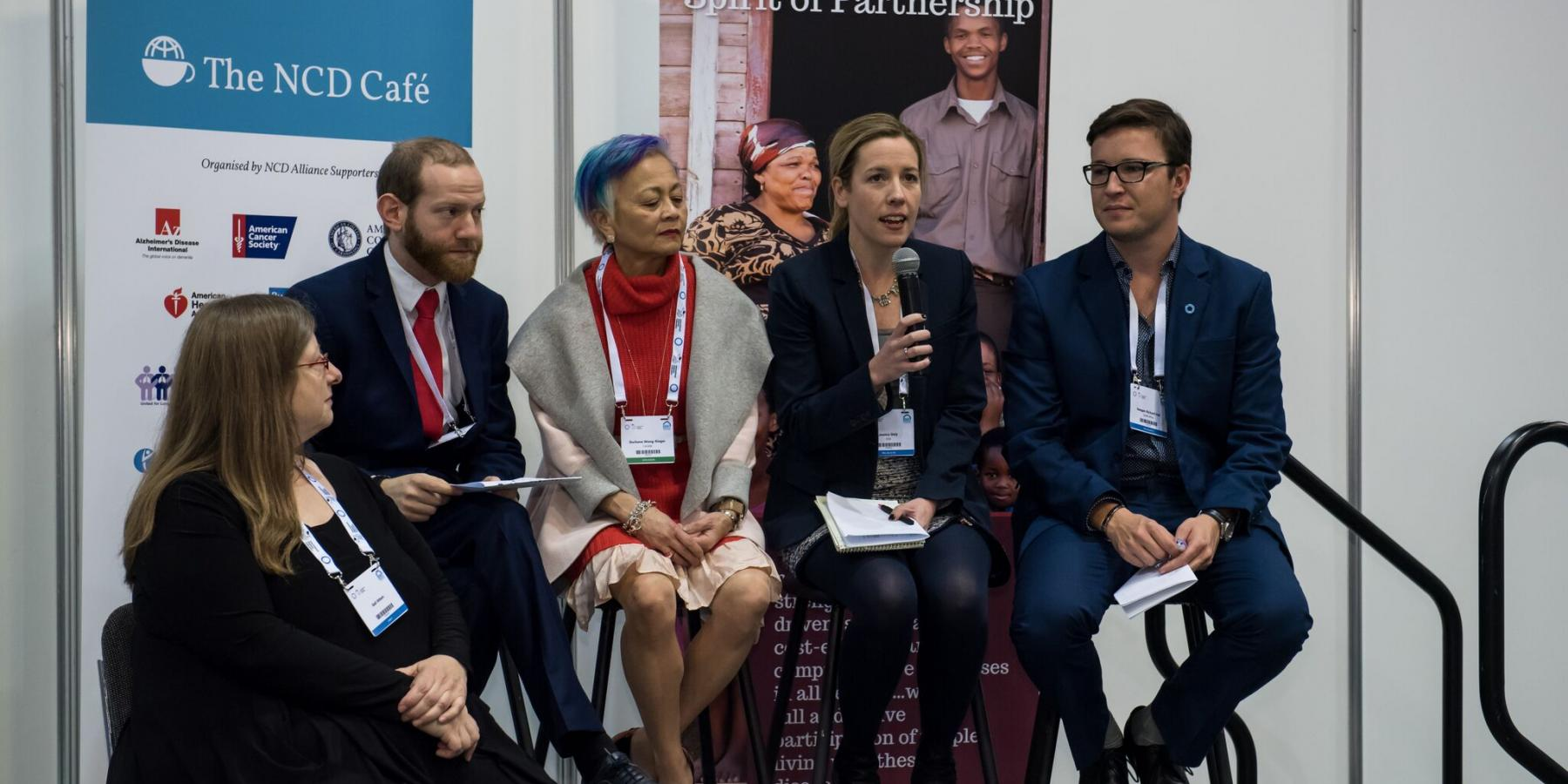 NCD Dialogues (Cape Town) & NCD Cafe (Vancouver), December 2015