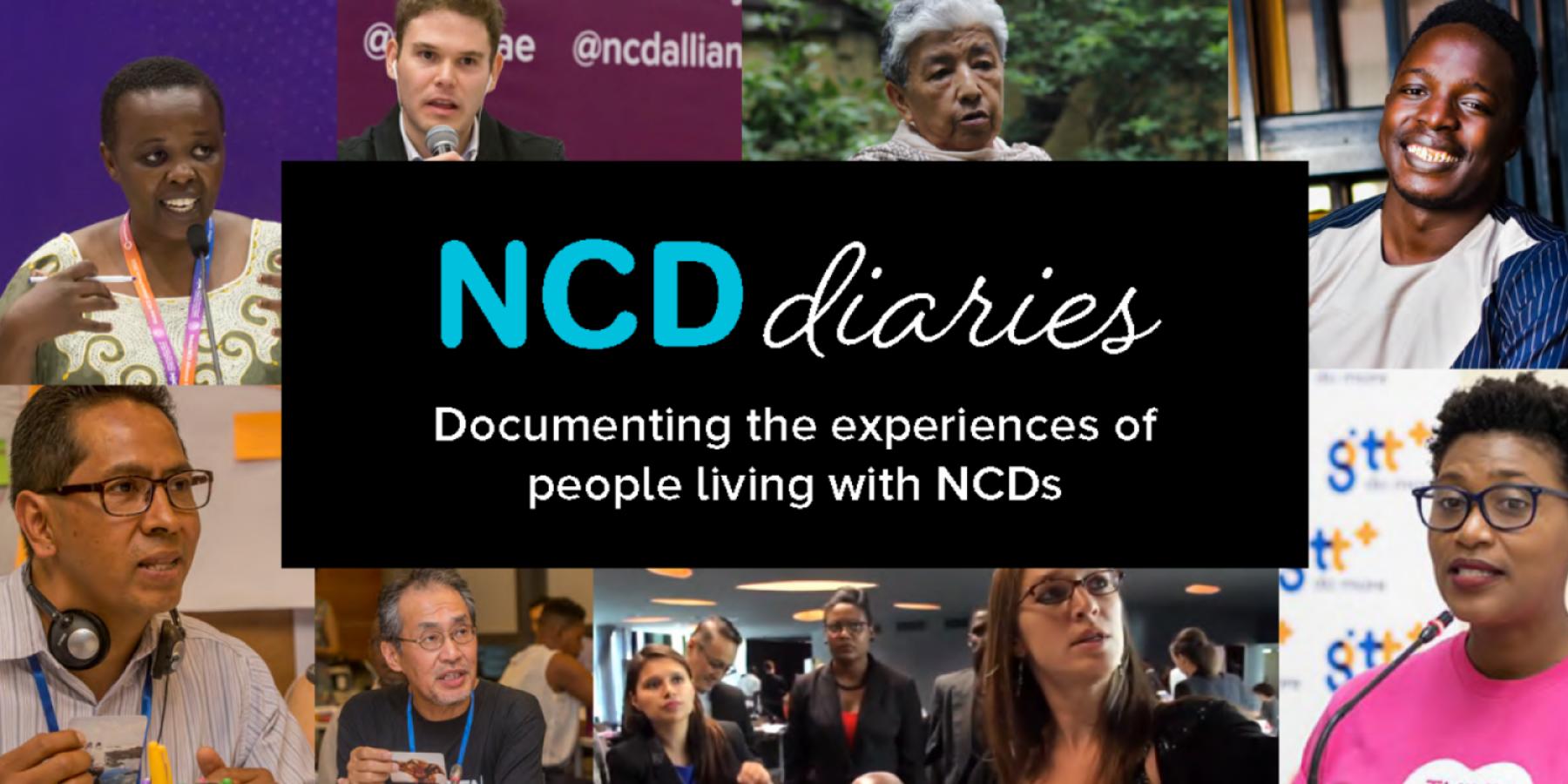 NCD Diaries Banner