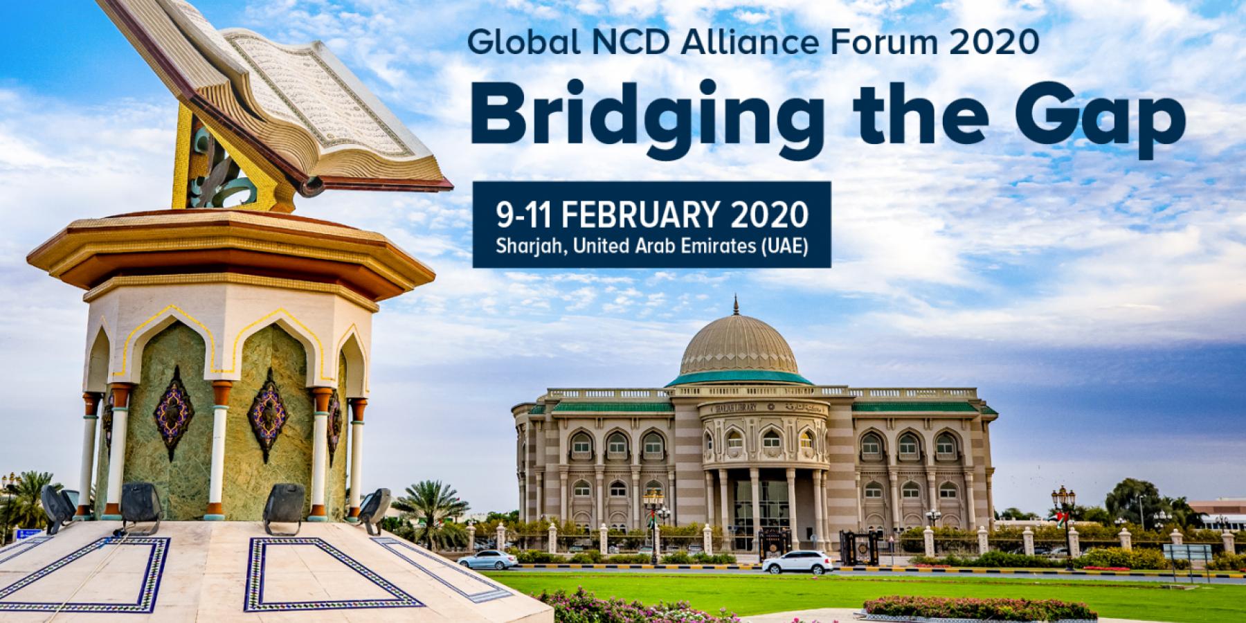 Global NCDA Forum 2020 - banner