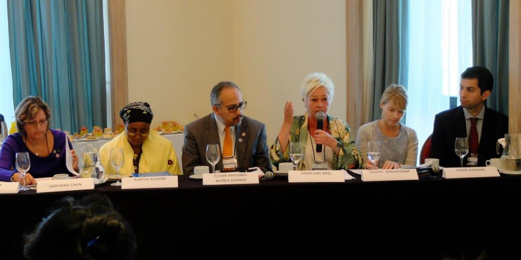 Speakers at the NCD Alliance Breakthrough Breakfast