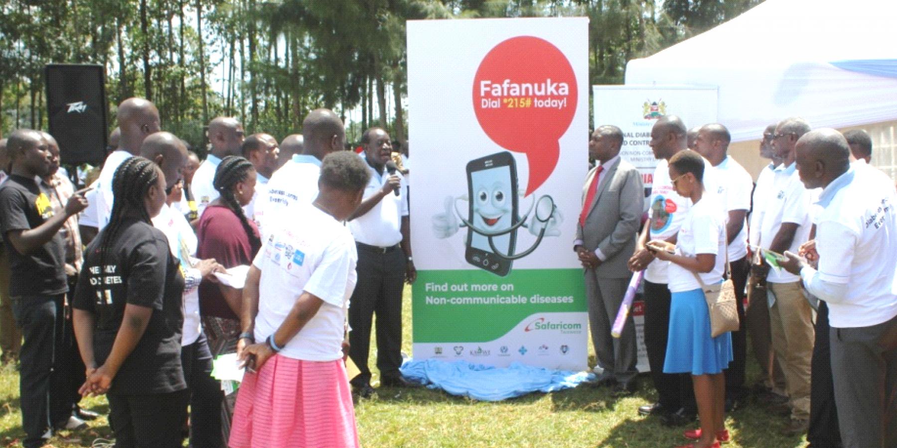 The Governor of Vihiga County, H.E. Hon Dr Wilber K. Ottichilo, CBS, launches Fafanuka