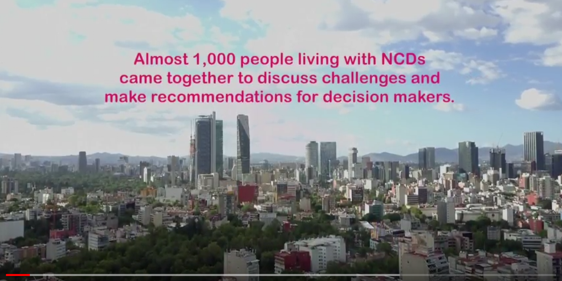 Our Views, Our Voices: Community conversations on NCDs in Mexico City