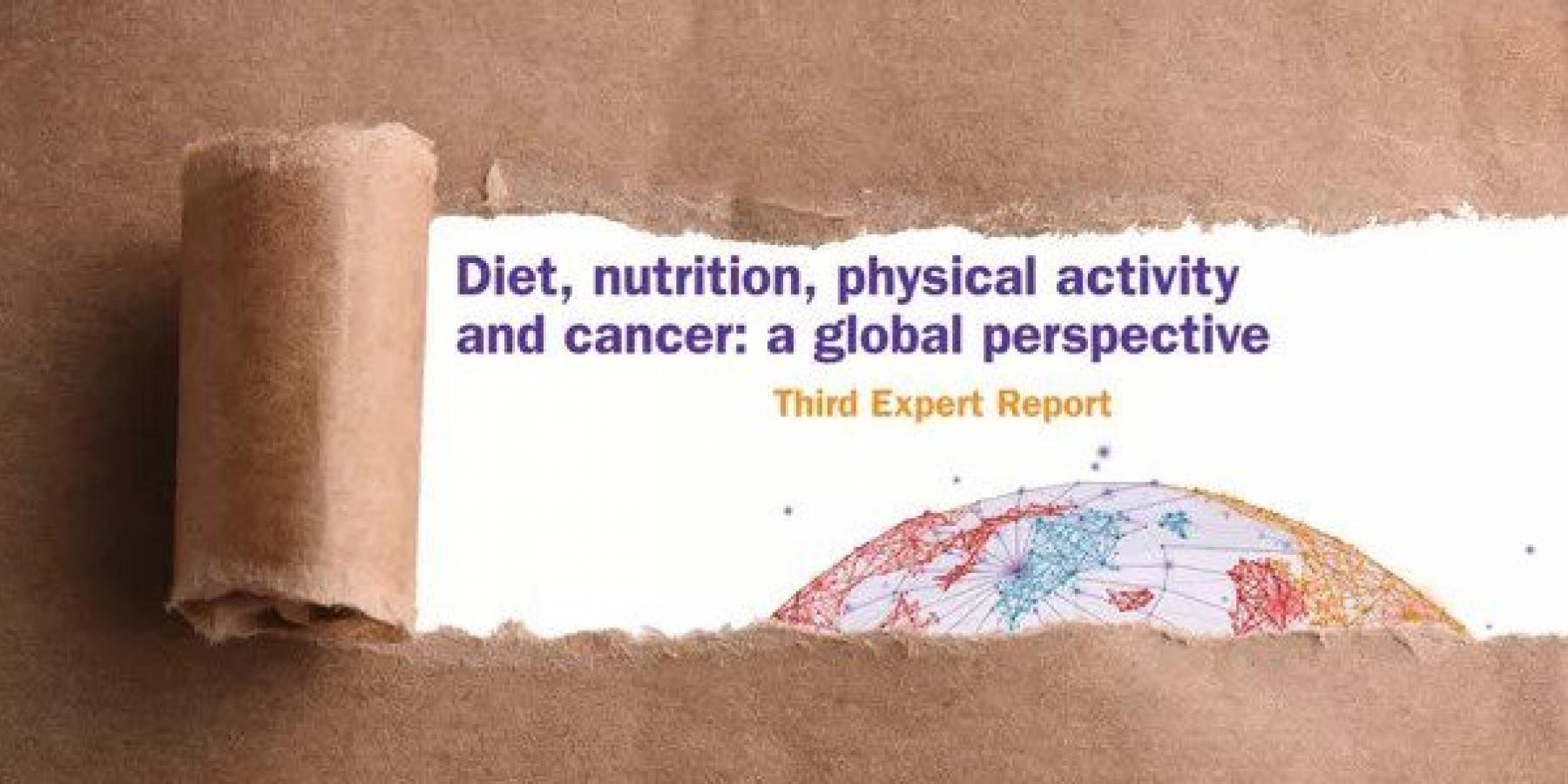 New report reinforces call for better diet and more physical
