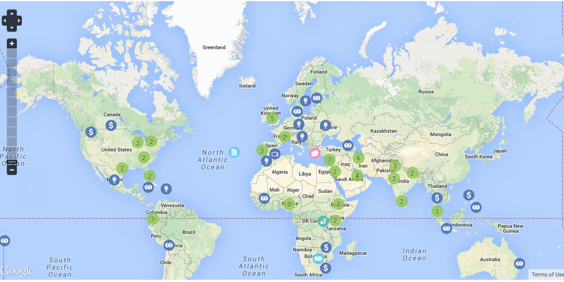 World cancer day 2015 map of events ncd alliance gumiabroncs Images