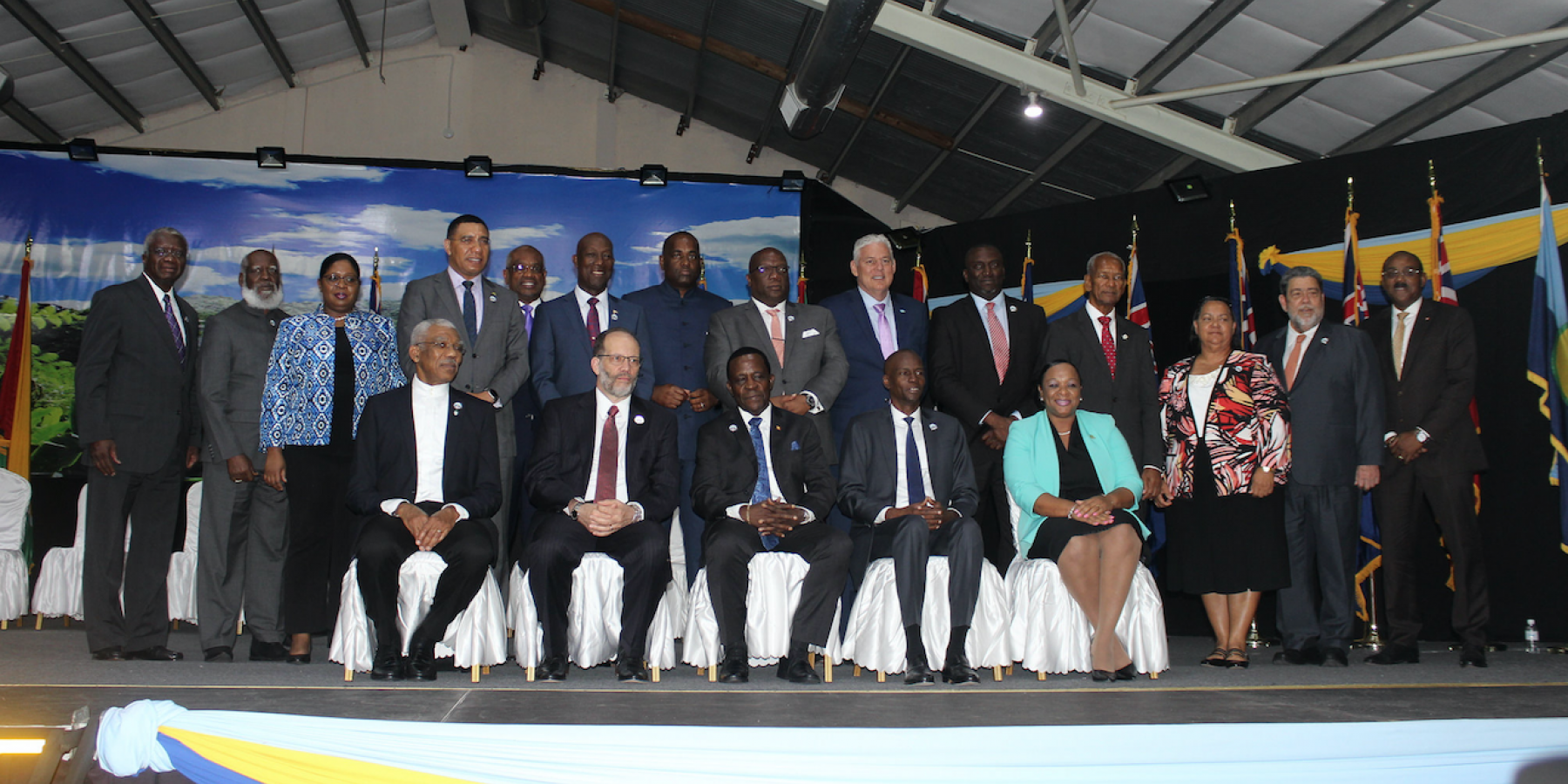 Opening ceremony, 38th Meeting of the Conference of Heads of Government of CARICOM, Grenada Trade Centre, Grenada, 4 July, 2017.