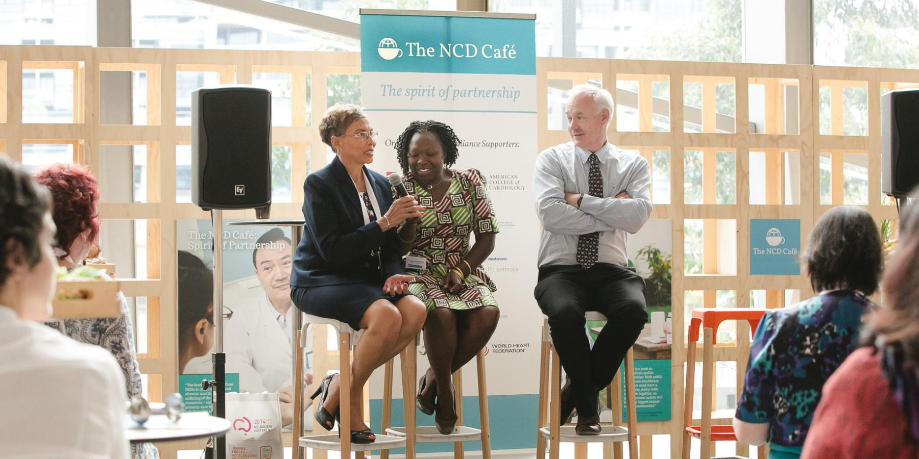The NCD Cafe, 2015 World Cancer Congress