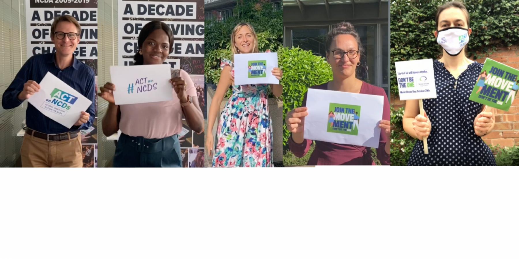 stroke, NCDs, world stroke day 2020