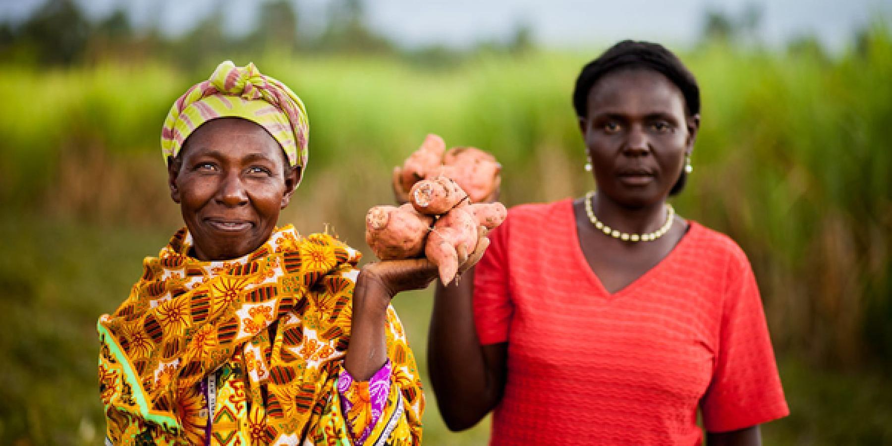 Women Grow Nutritious Crops