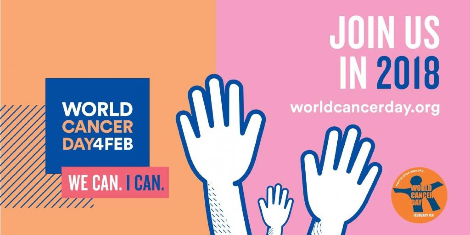World Cancer Day social media graphic