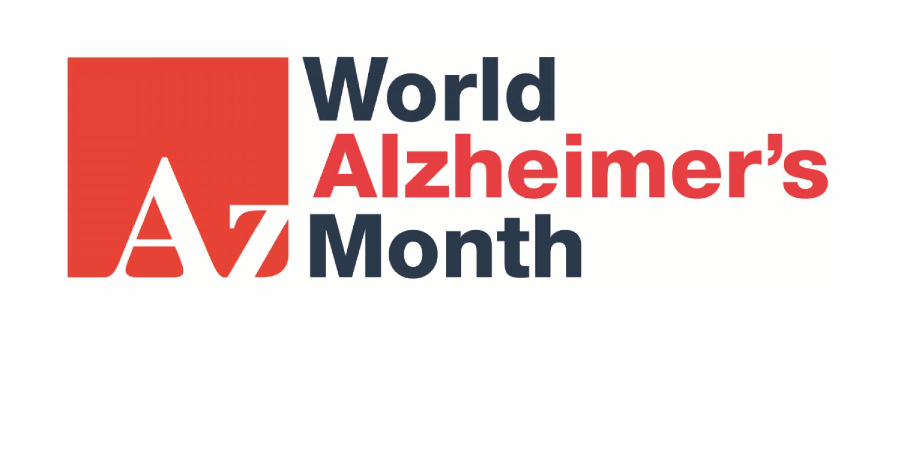 World Alzheimer's Month logo