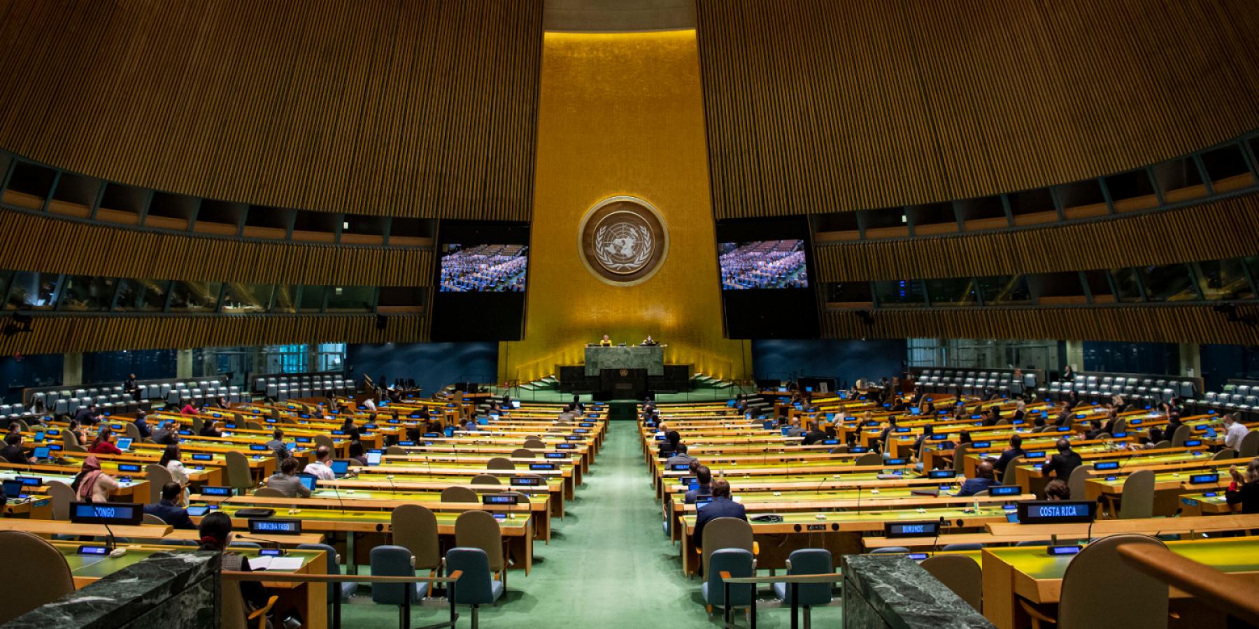 UNGA. Image from UN Photo
