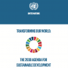 Transforming our world: the 2030 Agenda for Sustainable Development