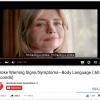 Stroke Warning Signs/Symptoms - Body Language