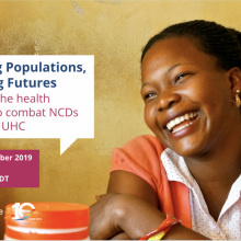 NCD Alliance Webinar, 10 October 2019