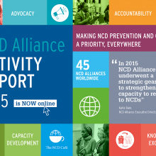 NCD Alliance Activity Report 2015: Advocacy milestones, changing gears, listening & convening