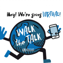 Join WHO's Walk the Talk 'The Health for All Challenge' on 16-17 May