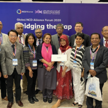 Launch of the South East Asia Regional NCD Alliance