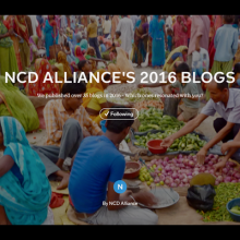Recapping on 2016 through the NCD Alliance blog