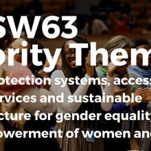UN 63rd Commission on Status of Women