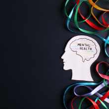 Mental Health infographic. Image from iStock