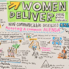 NCDs and RMNCAH: A shared agenda at Women Deliver 2016