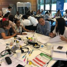 Stronger together: Growing the #NCDVoices movement through training