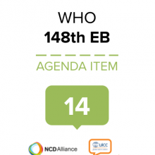 Joint statement at the 148th session of the WHO Executive Board on Agenda item 14: Public Health Emergencies Preparedness & Response