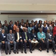NCD Advocacy, Accountability and Conflict of Interest meeting hosted by the Healthy Caribbean Coalition in partnership with the Antigua & Barbuda Ministry of Health and the Environment (Antigua, Feb 2017)