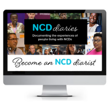 NCD Diaries Banner. Image by Mar Nieto / NCD Alliance