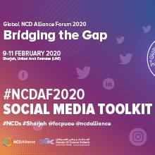Social Media Toolkit - Global NCDA Forum 2020