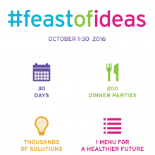 Eat.think.share.solve - #feastofideas