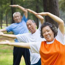 Physical Activity in the park