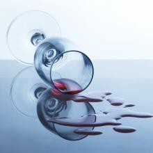 spilt wine square Shutterstock