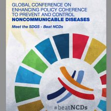 Web-based consultation on Outcome Document for WHO Global Conference on NCDs open now
