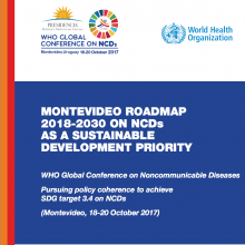 Governments commit to reduce suffering and deaths from NCDs