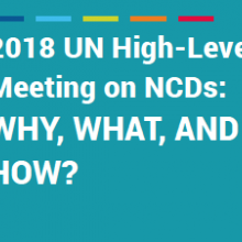 UN HLM/NCDs: Why, What and How?