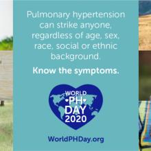 Raising awareness of pulmonary hypertension