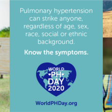 Raising awareness of pulmonary hypertension