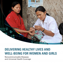 Delivering healthy lives and well-being for women and girls
