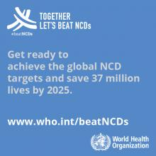 Telling stories, taking action: WHO's new global communications campaign on NCDs