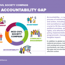 NCD Civil Society Compass - The accountability gap