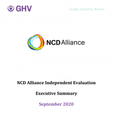 Global Health Visions - NCDA Independent Review