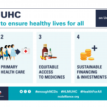 NCDA Advocacy Priorities for the 2019 UN HLM on UHC