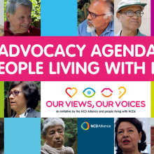 Advocacy Agenda of People Living with NCDs