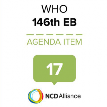 146th WHO EB Statement on Item 17 Decade of Healthy Ageing - Development of a proposal for a Decade of Healthy Ageing 2020–30