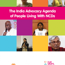 India Advocacy Agenda of People Living with NCDs
